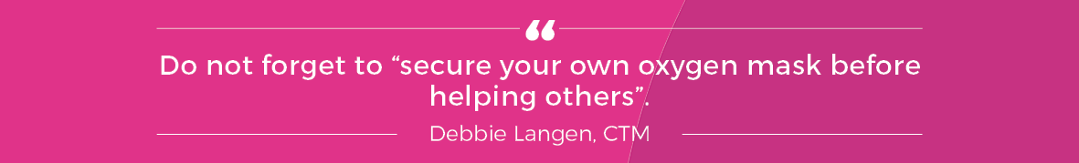 Quote from Debbie Langan
